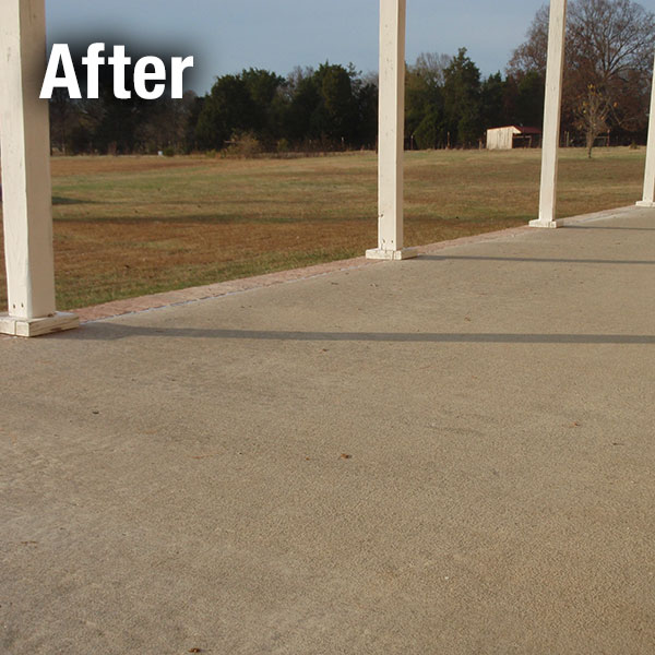 A-1 Concrete Leveling Patio Repair - After